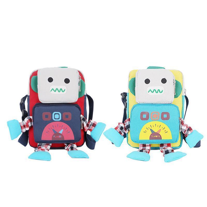 f5e9644f41 Cartoon Kindergarten Toy Backpack 1 3 Years Schoolbag For Boys And Girls  Bag Anti Lost Robot Pattern Cute Storage Bags Backpacks School Backpacks  Cool ...
