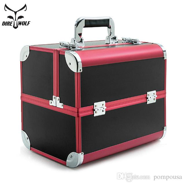 Professional Cosmetic Bag Suitcases Cosmetics Large Capacity Portable Women Travel Makeup Bags Box Manicure Cosmetology Case