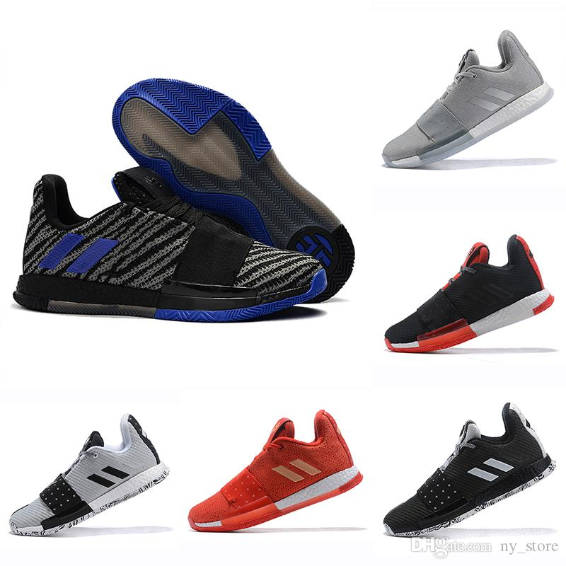 a437a983e8f Newst Mens Harden Vol. 3 MVP Basketball Shoes Men Weaving Sneakers Men Red  Grey Black James Harden 3s Outdoor Trainers Sports Sneakers 40 46 Basketball  Mens ...
