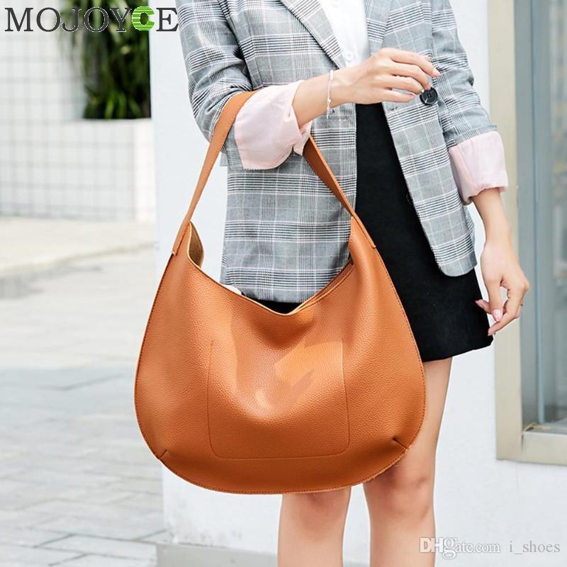 0269550cbb PU Leather Women Handbag Fashion Female Shoulder Bag Large Capacity Women  Bags Casual Totes Ladies Hand Bags Bolsa Feminina #94150 Big Bags Women  Handbags ...