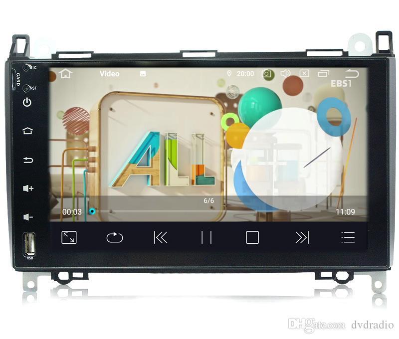 COIKA 9 Android 9 0 System 4-Core 2 16G RAM Car DVD Auto Radio For  Mercedes-benz B200 W169M W245 W639 A160 Sprinter GPS OBD DVR SWC