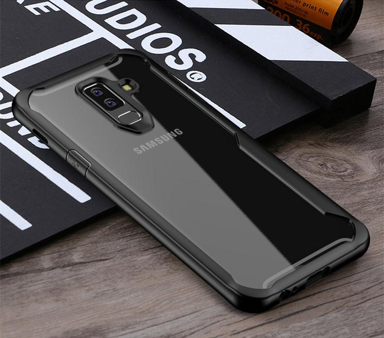 competitive price 61ecb 95b41 Shockproof Case For Samsung Galaxy S9 S8 Plus Note 8 9 A8 A6 Plus 2018 case  Transparent Case Cover