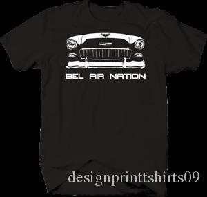 Bel Air Nation Chevy Classic Hot Rod Tshirt