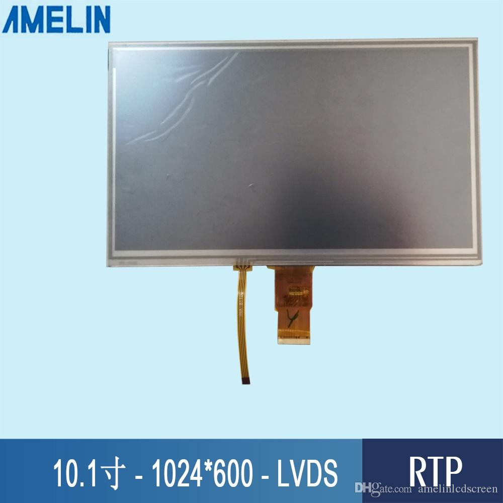 10.1 inch 1024*600 LVDS Interface TFT LCD Module display with HX8282A Driver IC and RTP resistive touch screen