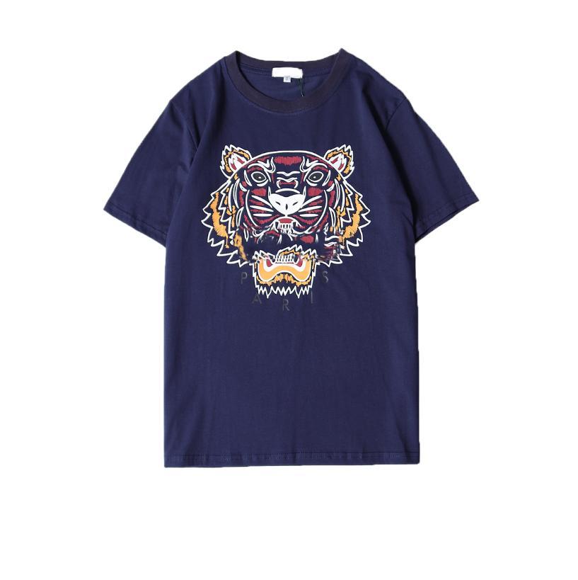 4a52a1315365f Großhandel Sommer Designer T Shirts Für Männer Tigerkopf Marke T Shirts Mit  Buchstaben Gedruckt Rundhalsausschnitt Luxus Herren Hemd Tops Kurzarm T  Stück ...