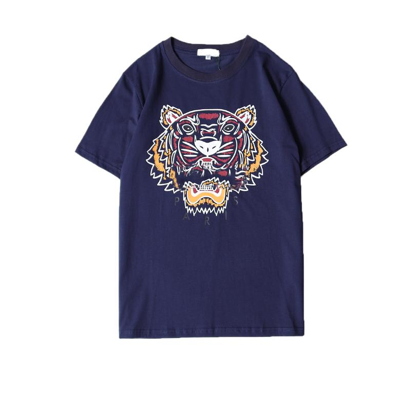 630e777bc2 Summer Designer T Shirts For Men Tiger Head Brand tshirts with letters  Printed Crew Neck Luxury Mens Shirt Tops Short Sleeve Tee Clothing