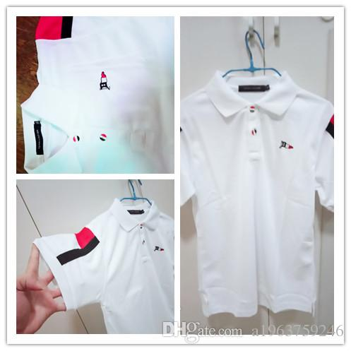 d172c1c1 Wholesale-2019 Summer Hot Sale Polo Shirt USA American Flag Brand ...