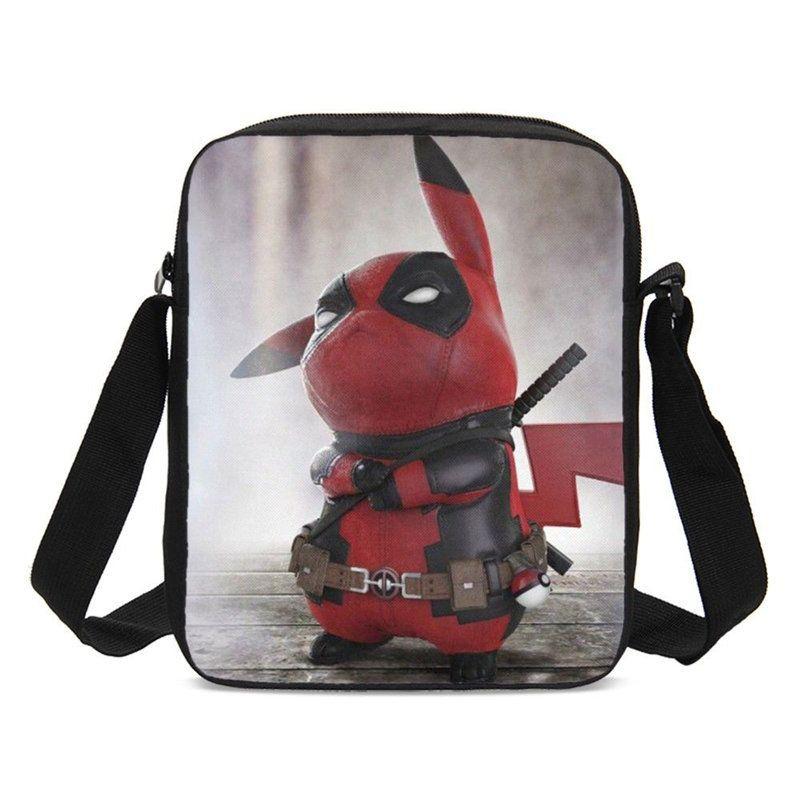 d7f47f6a499b Crossbody Bags For Boys Girls Fashion Cute Deadpool Pikachu Printed Messenger  Bags Shoulder Bag Children Kids Small Sling Bags For Women Cheap Designer  Bags ...
