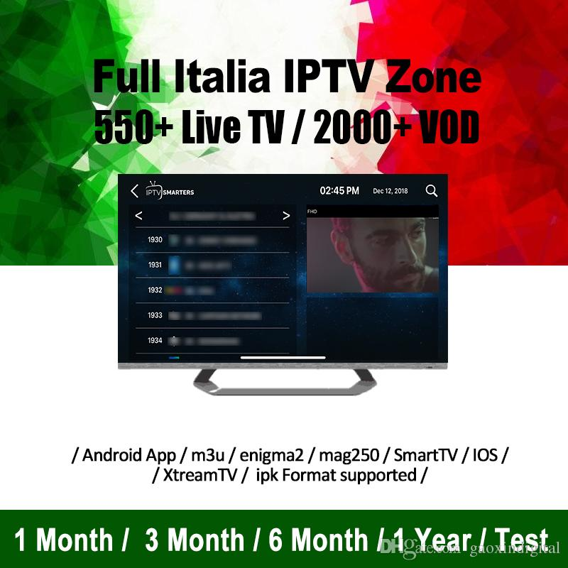 Abonnement IPTV 6000 Live channel subscription Iptv code for Android iOS  app Smart TV Magbox Europe India Asia UK USA Brazil Canada IPTV