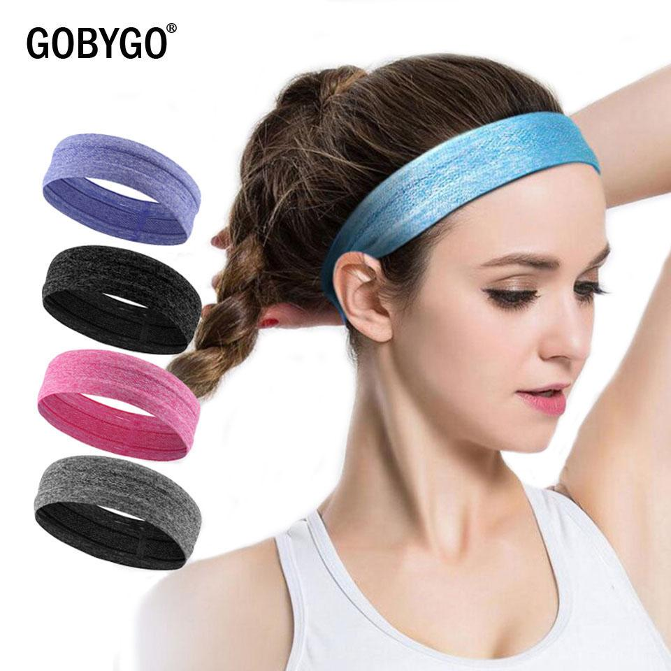 GOBYGO Elastic Sweatband Sports Gym Headband Anti Slip Women Men Breathable  Basketball Fitness Yoga Volleyball Cycling Hair Band UK 2019 From Qingbale 3df6e614f0