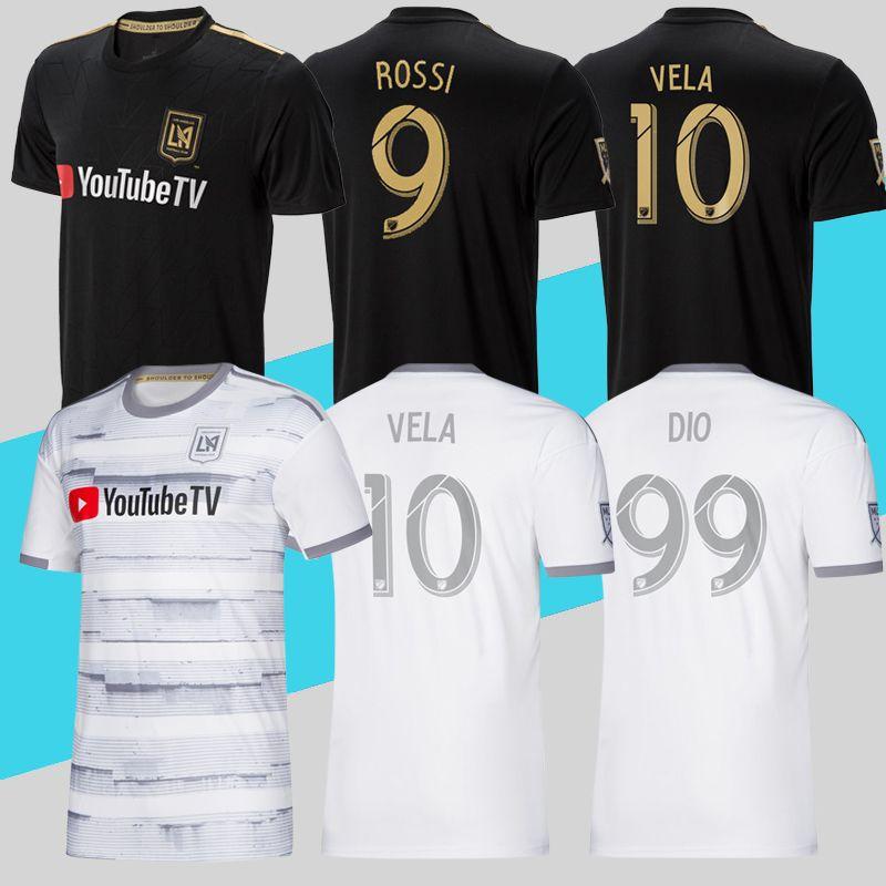 De Calidad Superior 2019 LAFC Soccer Jersey Home Away MLS Los Angeles FC  Camiseta De Fútbol ROSSI VELA DIO ZIMMERMAN Más Envío De DHL Gratis Por  Chenle258 60bbea10e017d