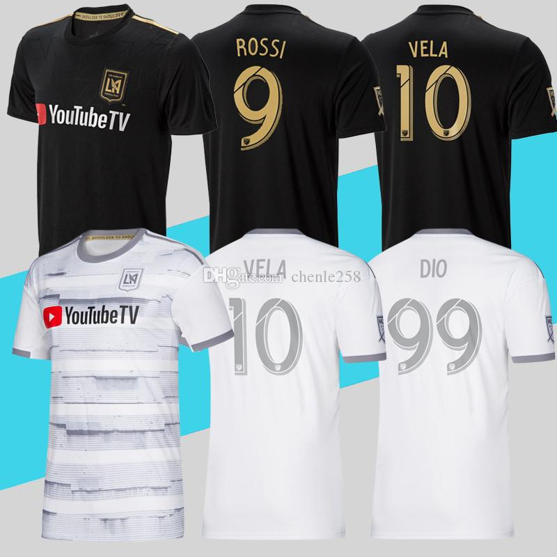f09b9ad83 2019 Top Quality 2019 LAFC Soccer Jersey Home Away MLS Los Angeles FC  Football Shirt ROSSI VELA DIO ZIMMERMAN More Free DHL Shipping From  Chenle258