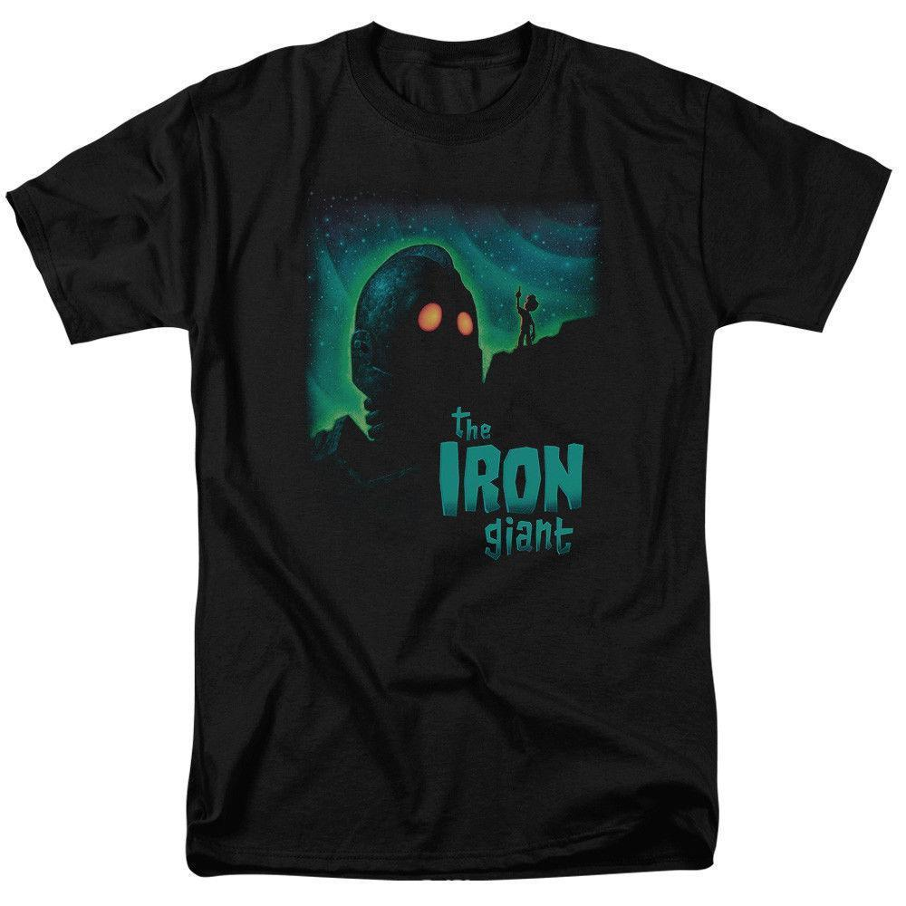 The Iron Giant Film Look To The Stars Lizenziertes T-Shirt für Erwachsene Mens T-Shirt 2018 O-Neck 100% Baumwolle T-Shirt Tops T