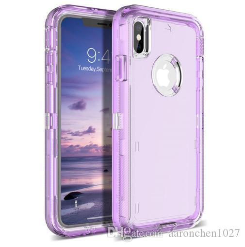 on sale 2737f 9eb10 Best Protective Case For Iphone XR Case 3in1 Defender Case Soft TPU Bumper  Clear Hybrid Back Cover For Iphone XR XS Max