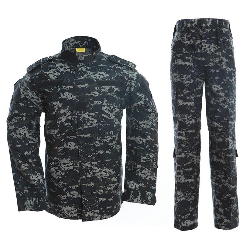 Men Women Outdoor Camping Fishing Sets Tactical Camouflage Clothes Sports Training Uniform Army Jacket Pants Suits