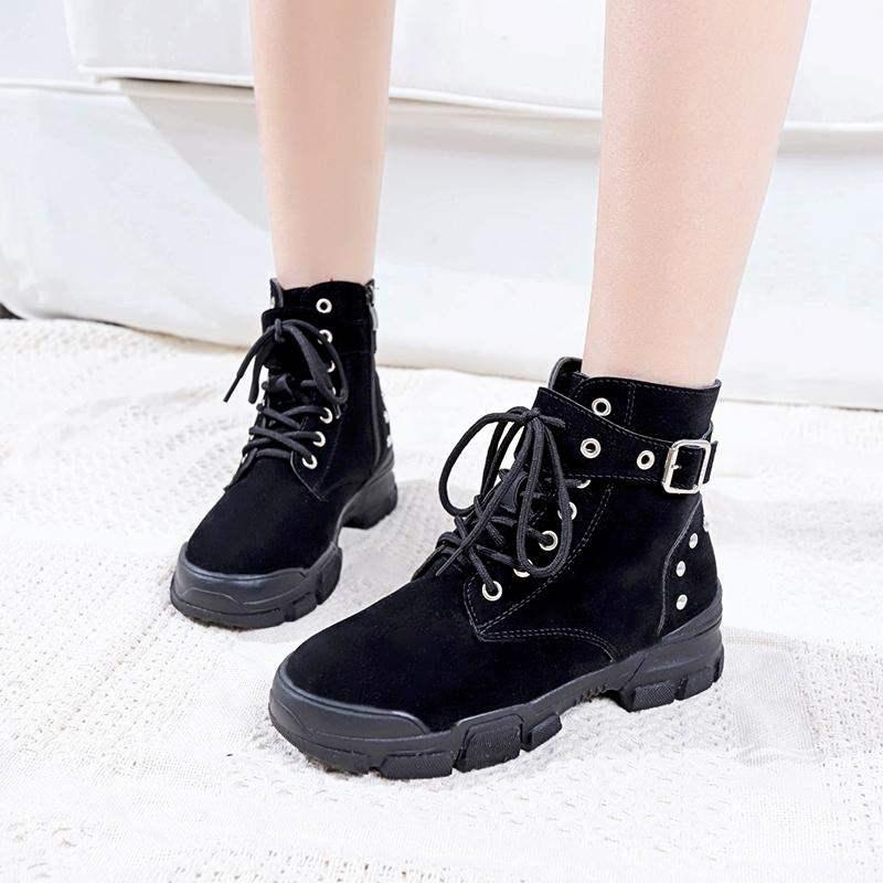 New Style Classic Fashion Design Woman Ankle Boots Genuine Leather Women Winter Boots Shoes High Quality Shoes