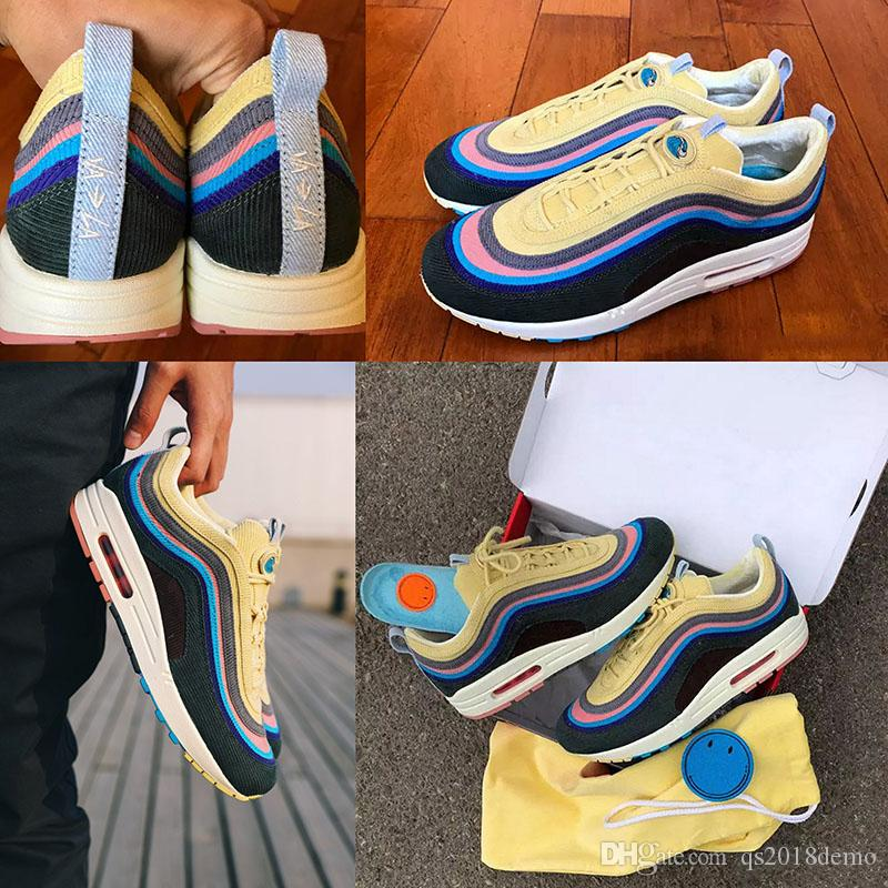 4a96bfe06 2018 New Brand 97 Sean Wotherspoon Men Running Shoes Top 97s Women ...