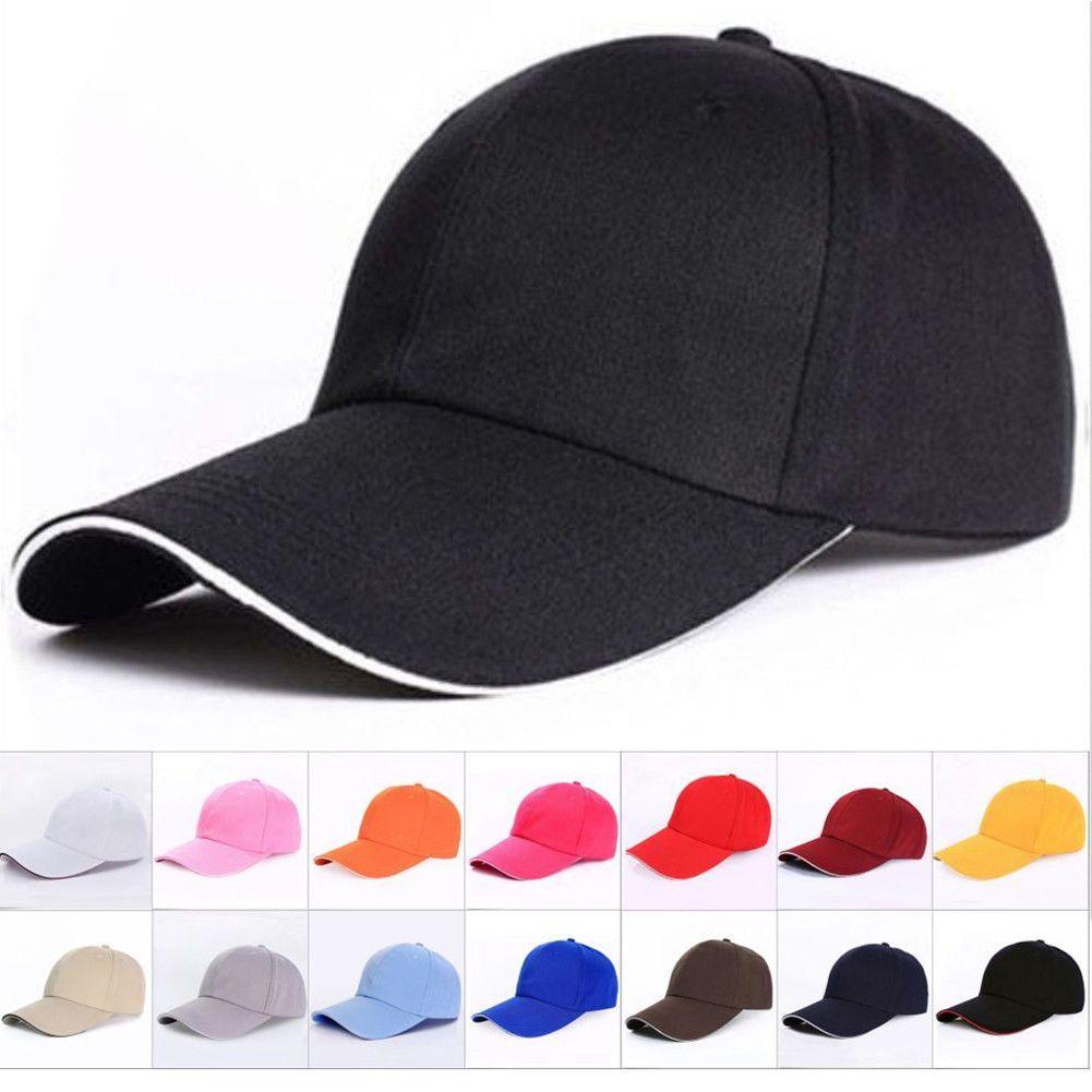 5fa14978ace New Adjustable Fashion Men Women Baseball Cap Snapback Hat Hip Hop B Boy  Caps Solid Hat Hat Stores Custom Trucker Hats From Alley66