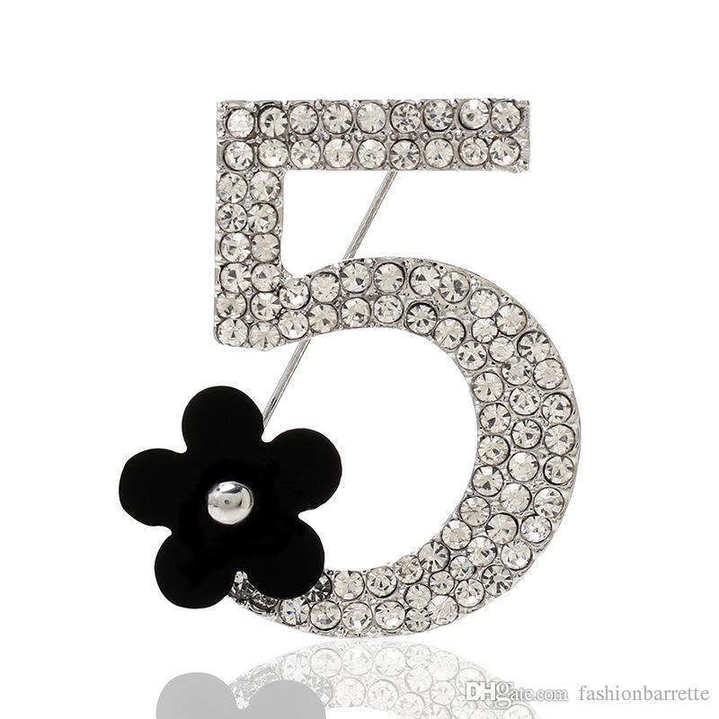 designer brooch style environment friendly Flower retro good quality women brooch wholesale rhinestone brooch crystal brooches