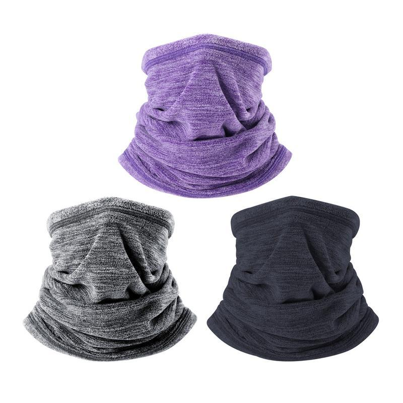 Hot Sale Winter Warm Collar Neck Gaiter Soft Fleece Scarf Windproof And Coldproof Warmer Face Mask For Winter Outdoor Sports