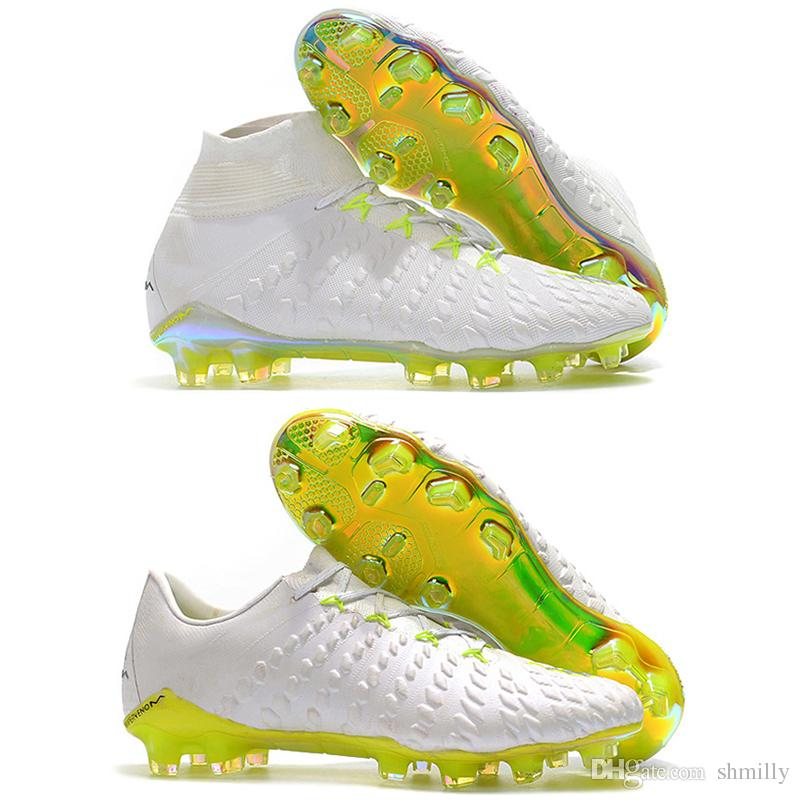 d4ef6328e21 2018 World Cup Mens High Tops Football Boots 3D Hypervenom Phantom III DF  FG Soccer Shoes Original Superfly Hypervenom II ACC Soccer Cleats Shoe Sale  Shoes ...