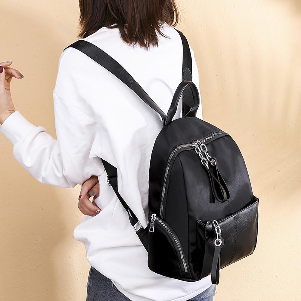 3742786d8583 Women Joker Shoulder Bag Casual Oxford Cloth Simple Large Capacity Backpack  Leisure Korean Style Backpacks Cheap Backpacks Women Joker Shoulder Bag  Casual ...