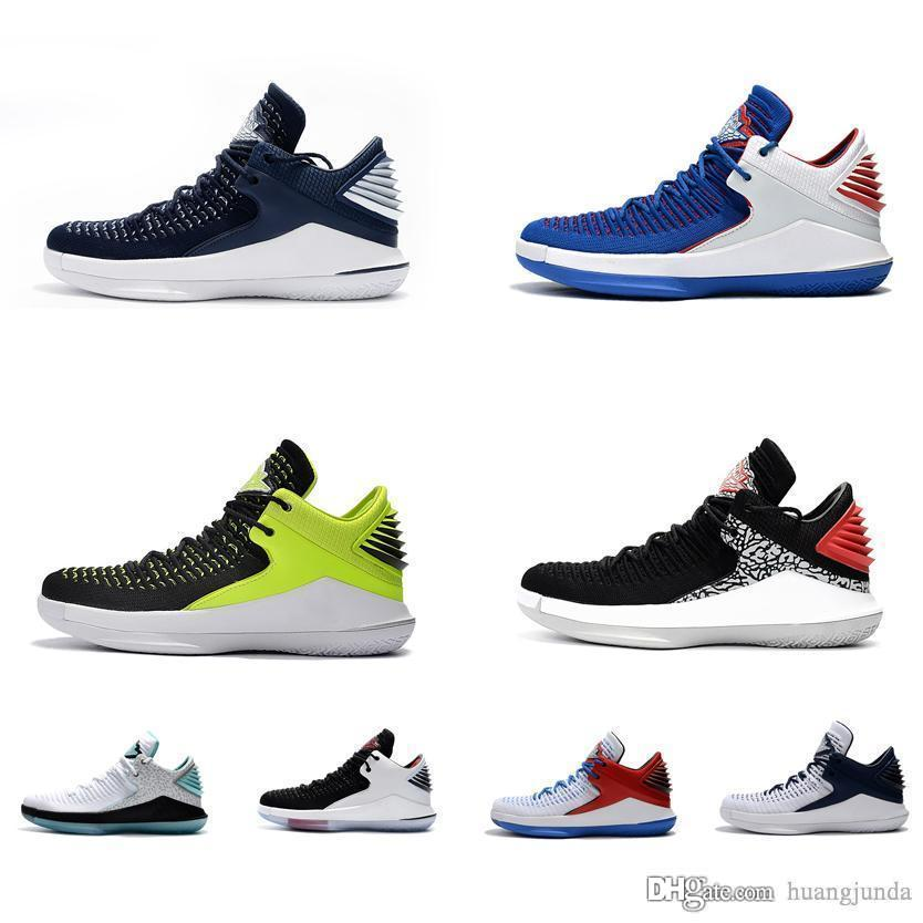 609b9678e2b 2019 Cheap Mens Jumpman XXXII 32 Low Cuts Basketball Shoes For Sale Youth  Kids Aj32 Russell Westbrook Sneakers 32s Boots With Box From Huangjunda