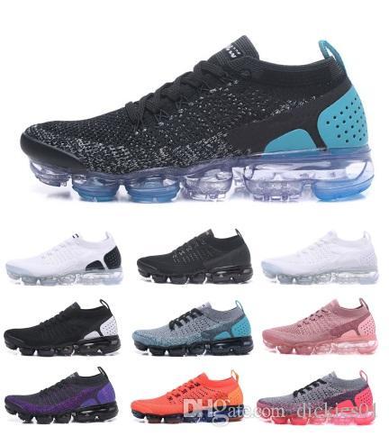 new concept b90d3 4b824 Acheter Nike Flyknit 2019 3.0 Tn Fly 3.0 Chaussures De Course Blanc Argent  Noir Pack Triple Noir Hommes Femmes Designer De Sport Sneaker De  110.66 Du  ...