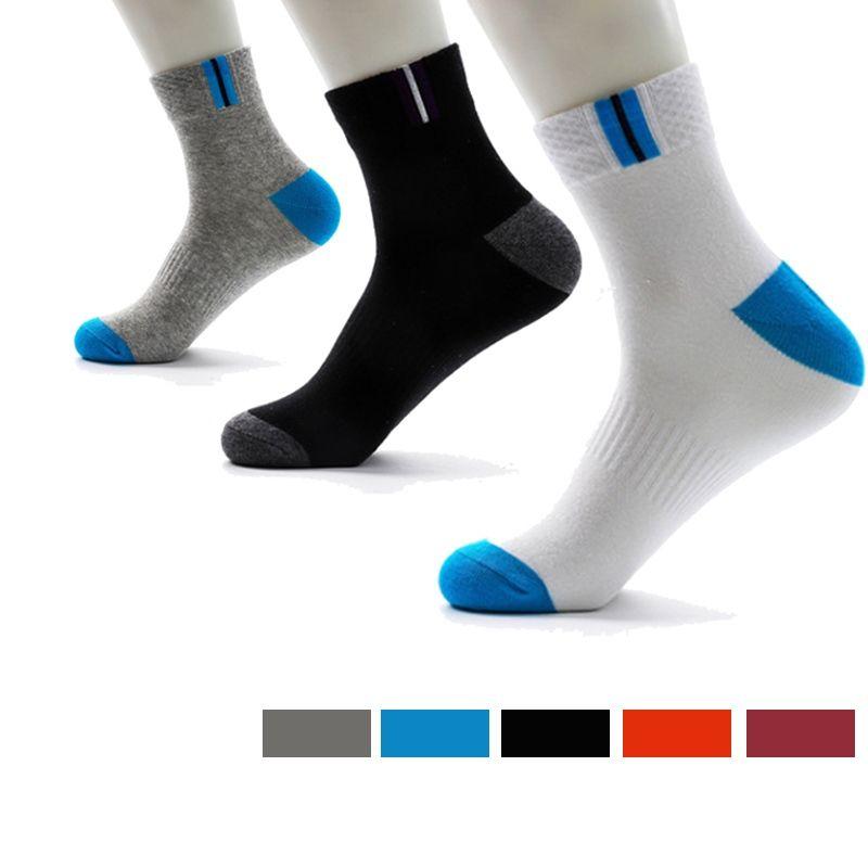 SEXYWG Coton Professionnel Running Hommes Femmes Chaussettes Vélo Chaussettes Basketball Football Sports Respirant Hiver Kaus Chaussette De Football #