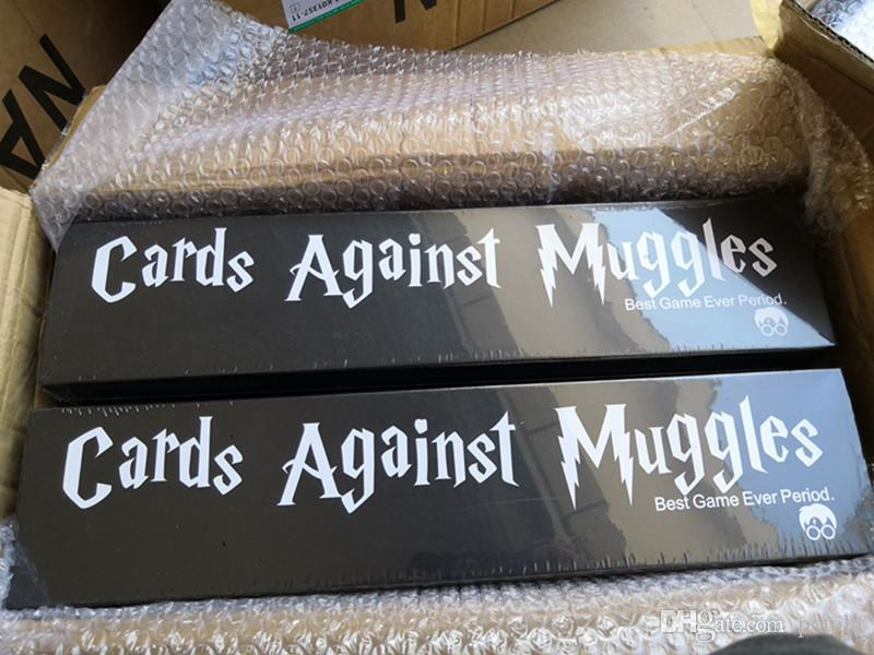 Cards Against Muggles The Harry Potter Version 1359PCS/Set The game  strictly for adults player Funny Card Game Make Fun IMMEDIATELY DELIVERY