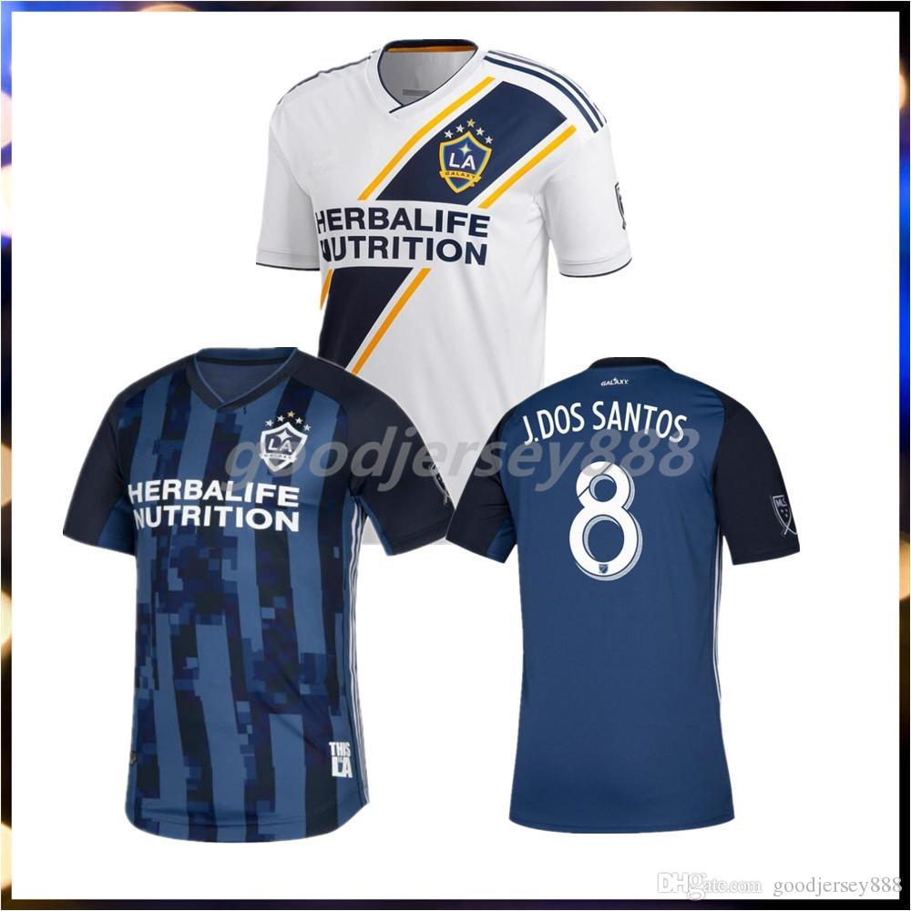 innovative design 2f03f f5ec4 NEW 19 20 IBRAHIMOVIC LA Galaxy jersey soccer Thailand Los Angeles Galaxy  GIOVANI COLE ALESSANDRINI CORONA football kit top shirts 2019 2020