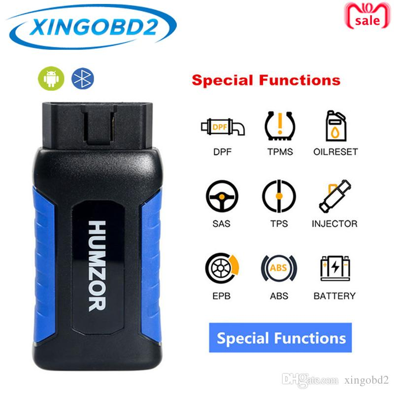 HUMZOR NexzDAS Lite Full-System Diagnostic Tool + Key Programming +Commecial vehicle DAS + Special Functions Work with Android