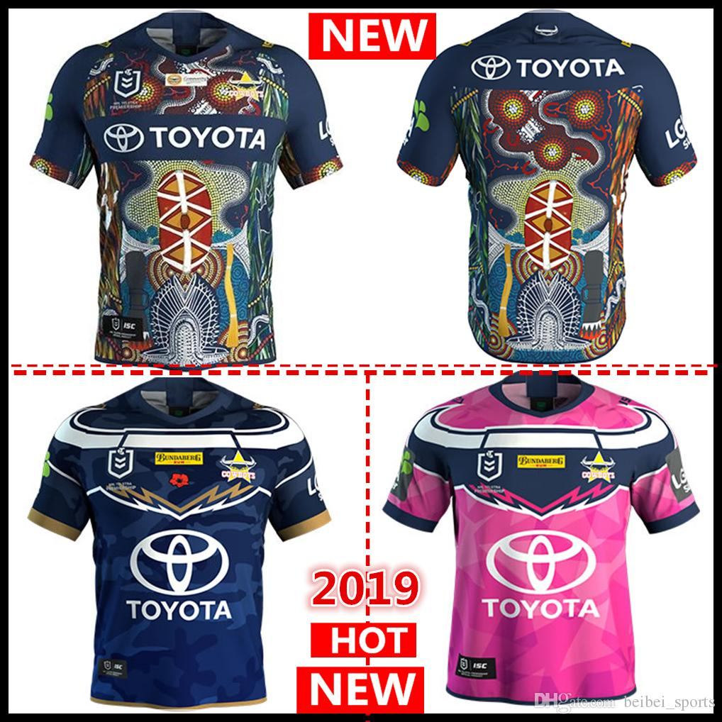 3b4e9fc7c 2019 2019 2020 North Queensland Cowboys INDIGENOUS Rugby Jerseys NRL  National Rugby League Nrl Jersey COWBOYS Indigenous Shirt S 3xl From  Beibei sports