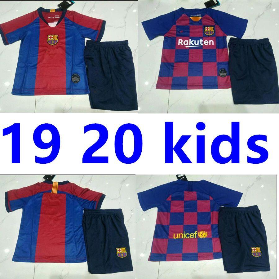 size 40 d0665 37950 2019 2020 Barcelona Soccer Jersey 10# Messi Iniesta 9# Suarez MALCOM  Dembele Coutinho Memorial Edition Football uniforms shirts Kids Kits