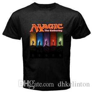 Magic The Gathering Jeu de cartes à collectionner Hommes 039 s BlaHip hop T Shirt Taille S M L
