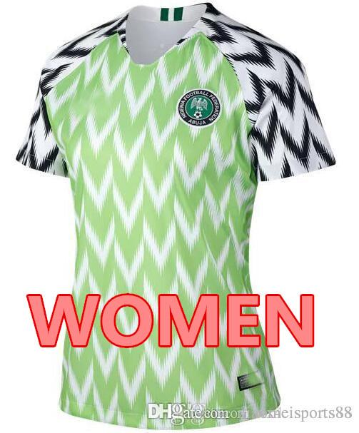 87bb117fe 2019 2018 World Cup MIKEL Home Green White Soccer Jersey IWOBI ...