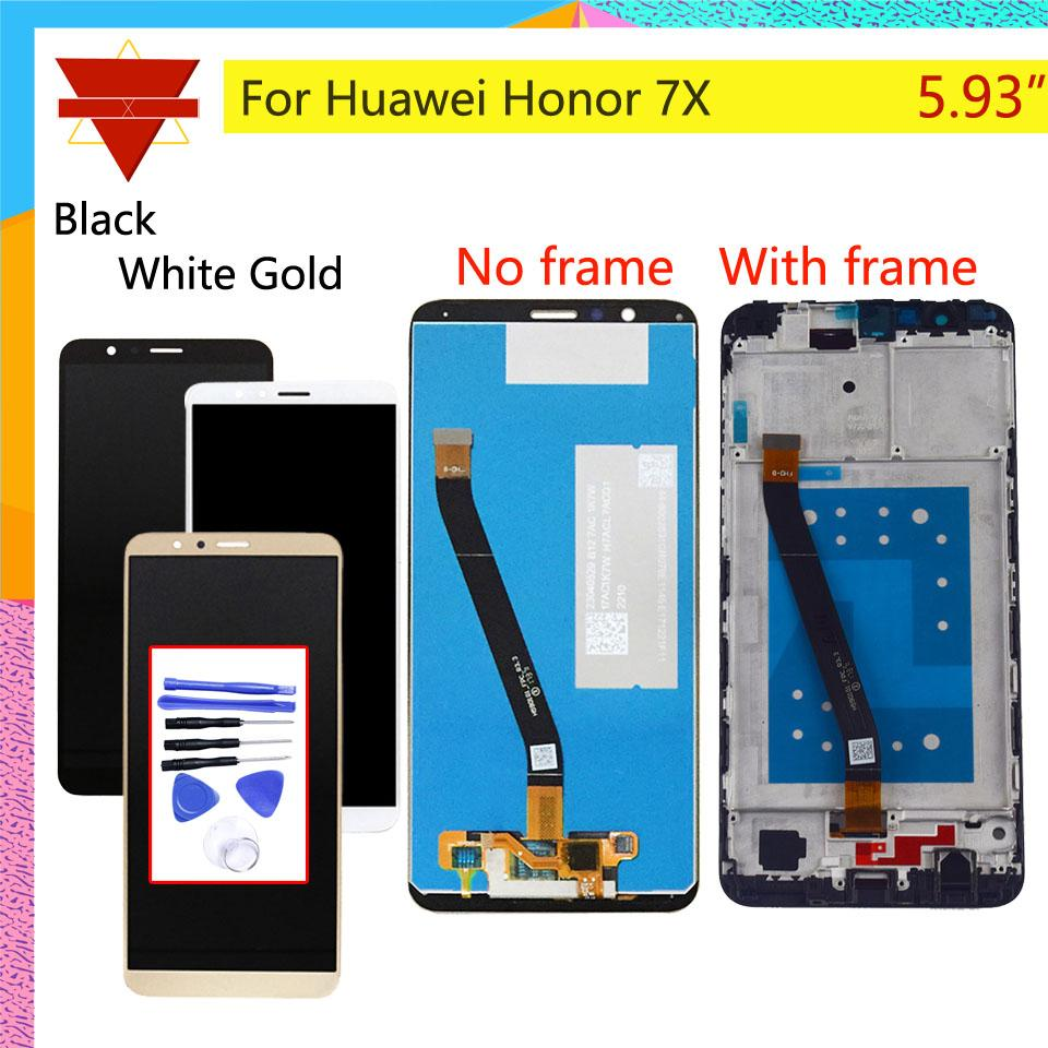 Original For HUAWEI Honor 7X LCD Display Touch Screen Digitizer with Frame  for Honor 7X BND-L21 BND-L22 BND-L24 LCD Assembly