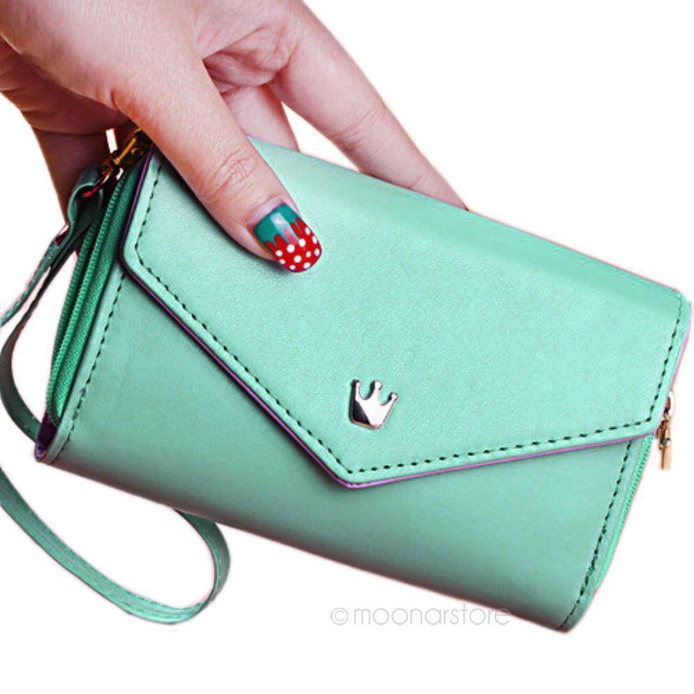 48bbdd1ed597b Satın Al Kadın \ 'ın Moda Deri Çanta Telefon Cüzdan Muhtasar Cüzdan Cüzdan  Tüm Telefon Için Sevimli Kart Sahipleri Cep Telefonu Çantaları, $36.45 |  DHgate.