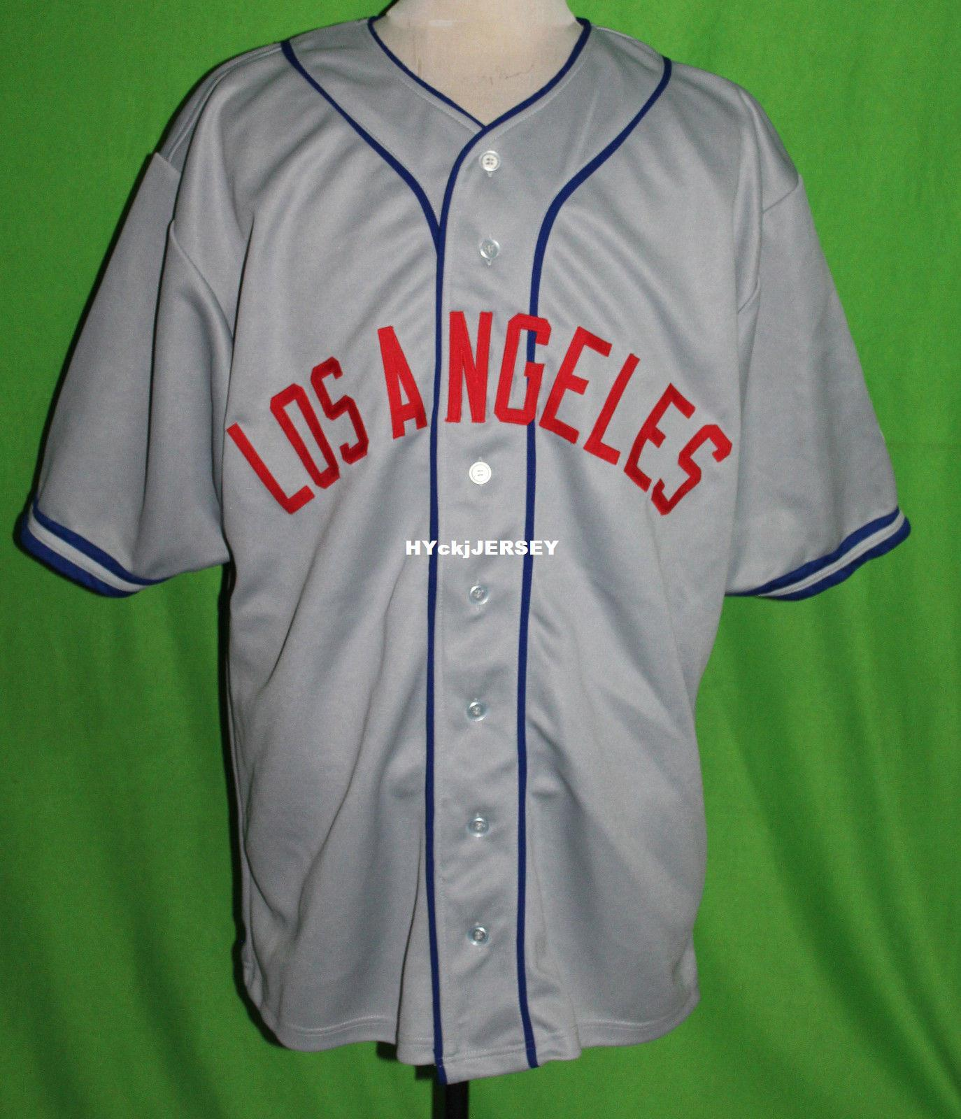 afb005842 2019 Cheap Retro LOS ANGELES  5 1942 Road BASEBALL JERSEY Or Custom Any  Number Any Mens Vintage Jerseys XS 5XL From Hyckjjersey