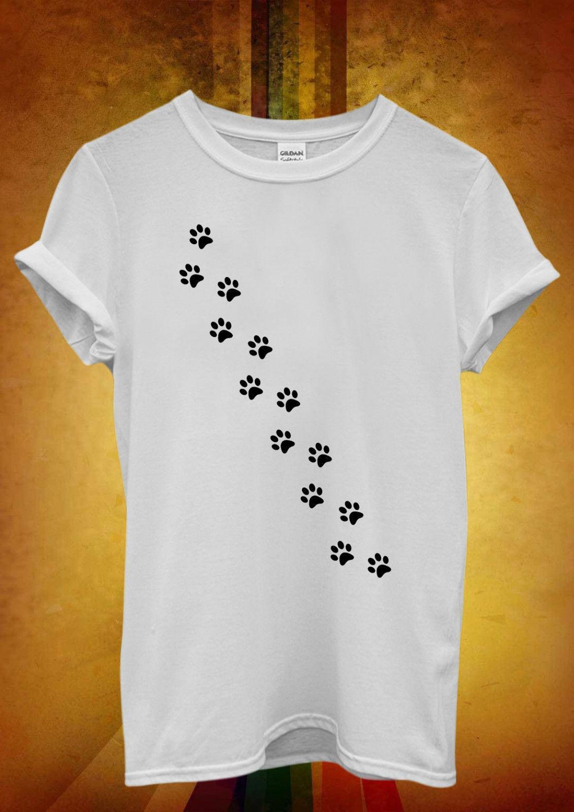 0d908b5cc43 Cat Paw Kitten Meow Cool Hipster Men Women Unisex T Shirt Tank Top Vest 742  T Shirt Summer Style Fashion Men T Shirts Top Tee Shirts T Shirts T Shirts  And ...