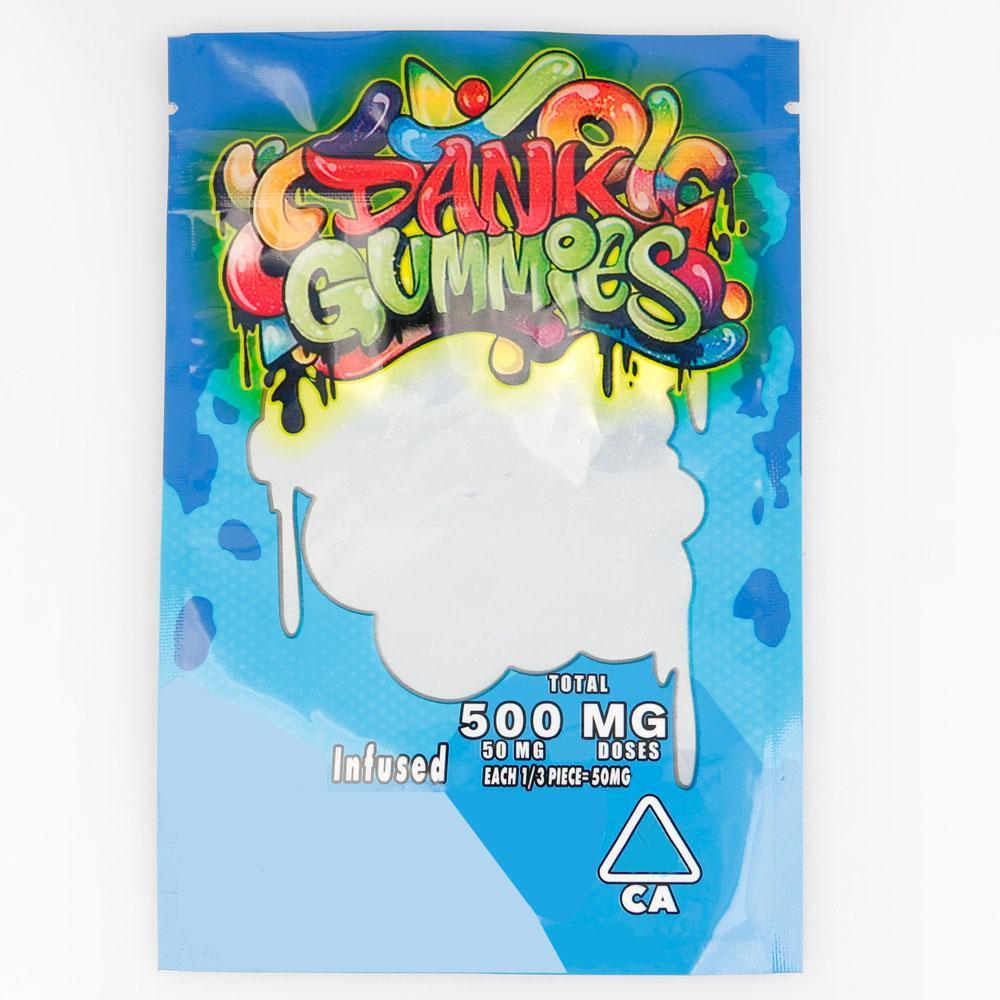 웜 먹을 거 천지 곰 큐브 거미 가방 도매 포장 500MG 축축한의 gummies 가방 먹을 거 천지 가방