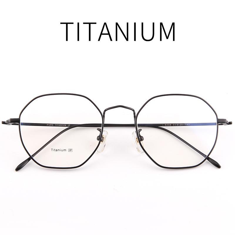 Compre 51 21 143 Homens De Alta Qualidade   Wmen Quadros De Titânio Puro  Quadro Completo Óculos De Prescrição Homens Óculos De Armação De Óculos  Ópticos 358 ... 147def7b97