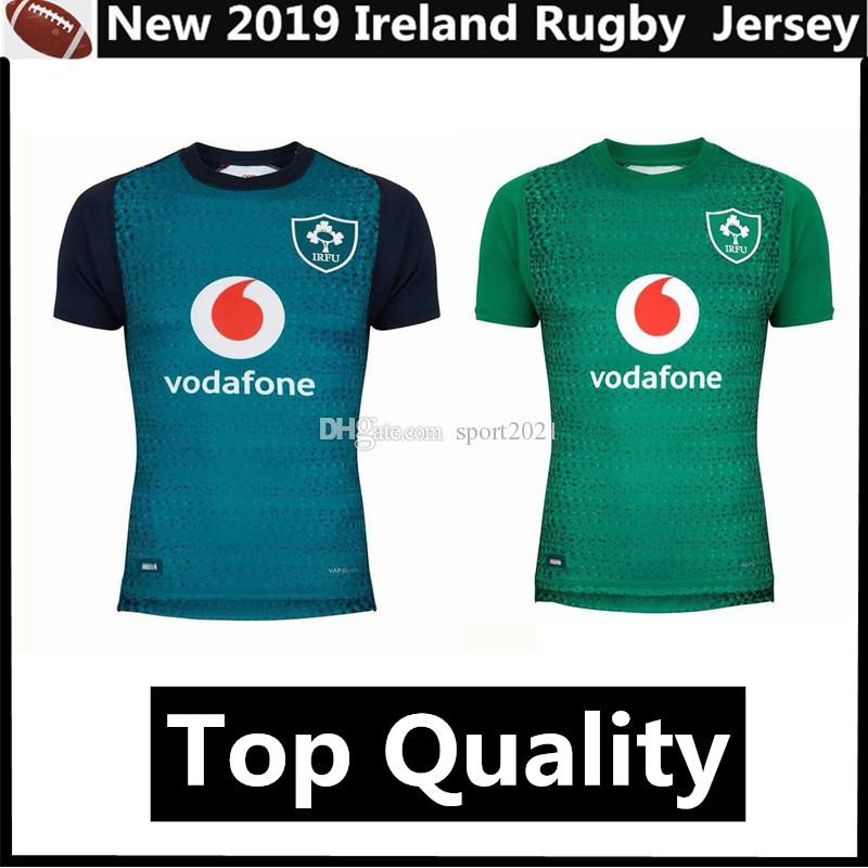 fb81abb9bb1 Top Quality Ireland Rugby Jersey 2019 Home Away Quick Dry Irlande Rugby  Jerseys Shirt Size S
