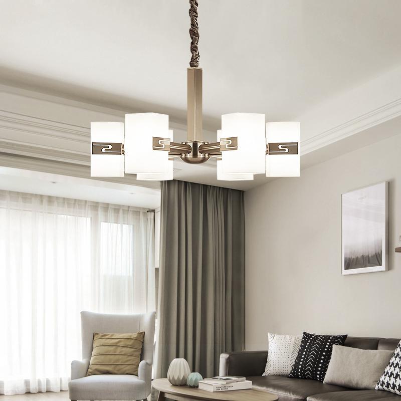 Acheter Moderne LED Lustre Éclairage Salon Chambre Suspension Lampe Design  Créatif Luminaire Intérieur Luminaire Fer Décoration De La Maison De $78.2  Du ...