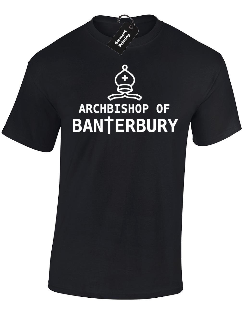 ARCHBISHOP OF BANTERBURY LADIES T SHIRT FUNNY INBETWEENERS JAY JOKE GIFT IDEA