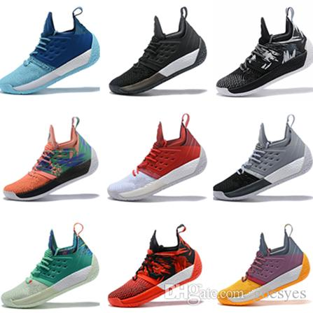 5375f64b9f6 2019 2019 New James Harden 2 Vol.2 Basketball Shoes James Men Harden 2  Championship MVP Finals Sports Training Sneaker Running Shoes Size 40 46  From Goesyes ...
