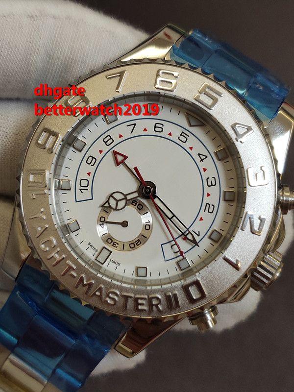 e111ddf18 Compre Edición Limitada Superior Nueva Moda Asia ETA 2813 Movimiento  Hombres 44 Mm 116689 Veces Acero Inoxidable Moda Automático Reloj Para  Hombre Oro ...