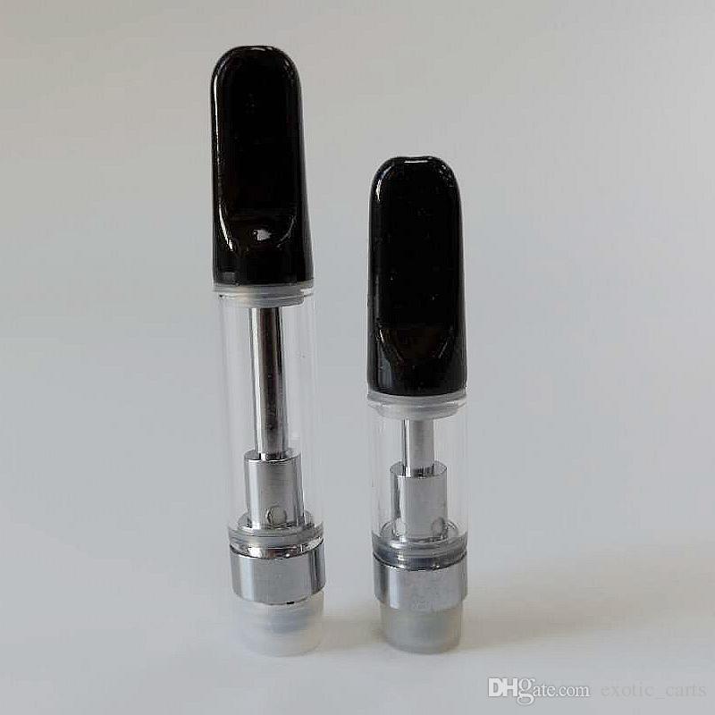 3000pcs TH205 TH210 1ml Ceramic Vape Cartridge Empty e Cigarette Cartridges  Vape Pen Cartridges For Thick Oil Atomizers Fit 510 Battery