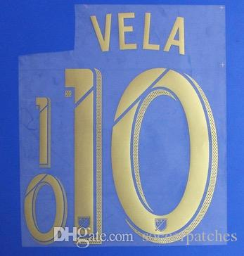 86c72d1927d 2019 Carlos Vela LAFC 2019 Name Sets ZELAYA 22 LA Galaxy Home Name And Number  Fast Shipping From Soccerpatches