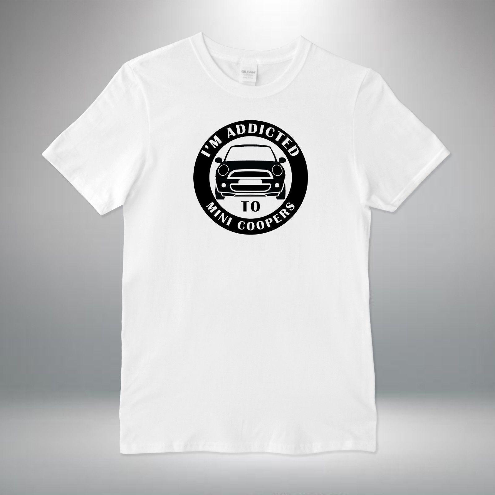 abb3a9ea4 Mini Cooper Addict Classic Cars Vintage T Shirt Vest Tank Top Men Women  Unisex Funky Tee Shirts Humor T Shirt From Belief85, $11.48| DHgate.Com